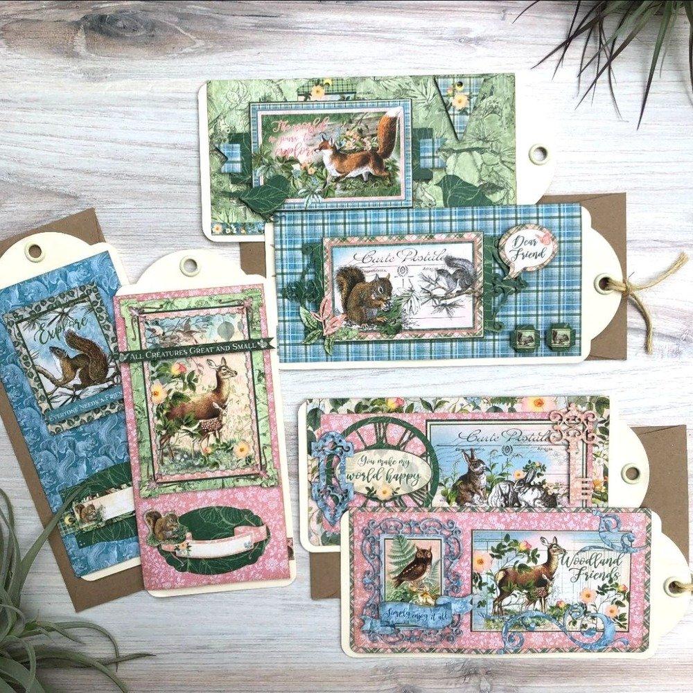 G45 Card Club Vol 12 December 2020 Kit (Woodland Friends)