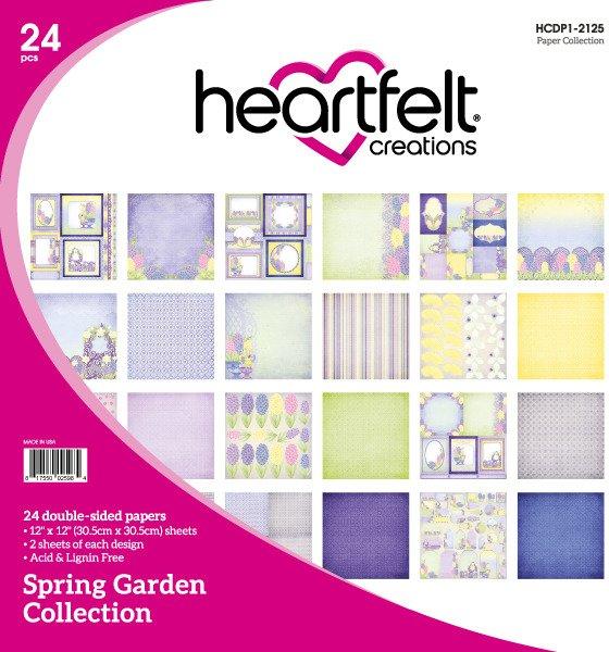 12X12 Paper Collection, Spring Garden