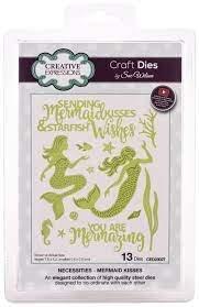 Creative Expressions Craft Dies By Sue Wilson-Necessities-Mermaid Kisses