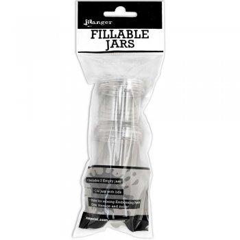 Ranger Inks (3-Pack) Fillable Jars 3/Pkg 1oz W/Lids