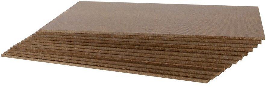 Tempered Hardboard Panel, 9 x 12
