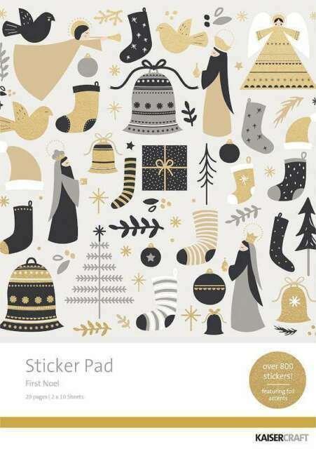 Sticker Book, First Noel