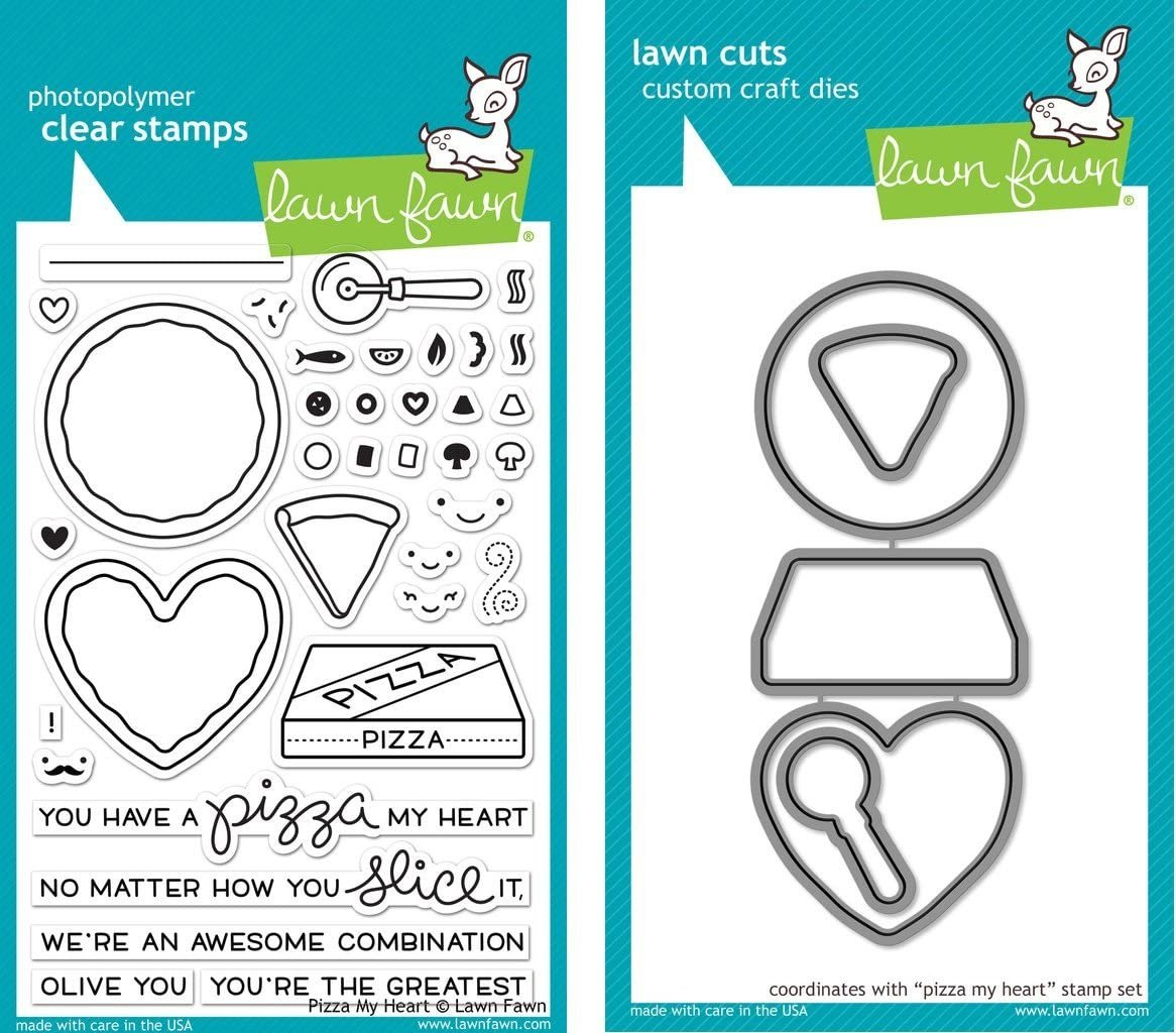 Clear Stamp and Die, Pizza My Heart