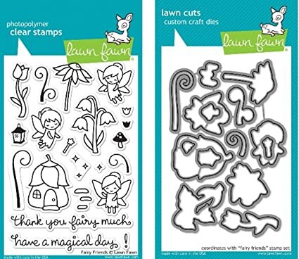 Clear Stamp and Die, Fairy Friends