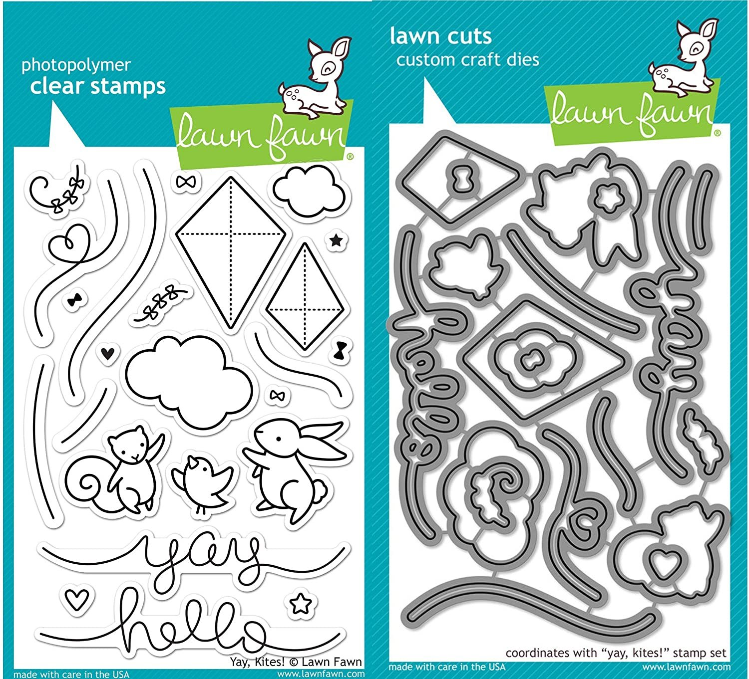 Clear Stamp and Die, Yay, Kites!