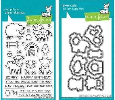 Clear Stamp and Die, Hay There
