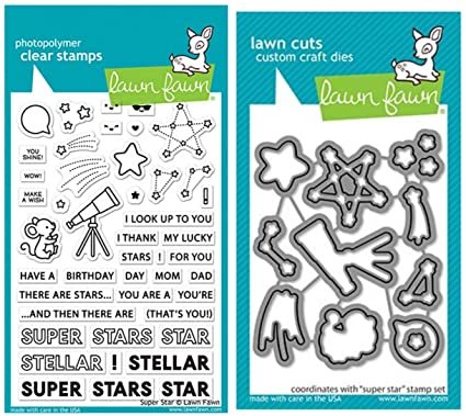 Clear Stamp and Die, Super Star