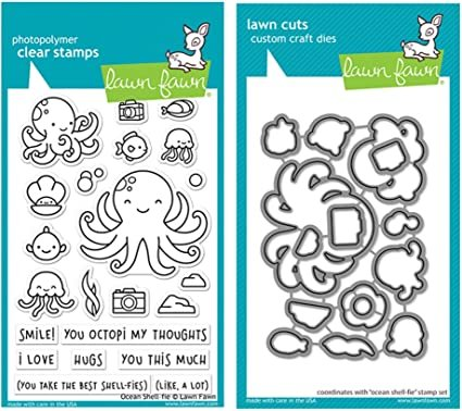 Clear Stamp and Die, Ocean Shell - Fie
