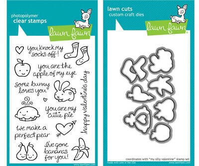 Clear Stamp and Die, My Silly Valentine
