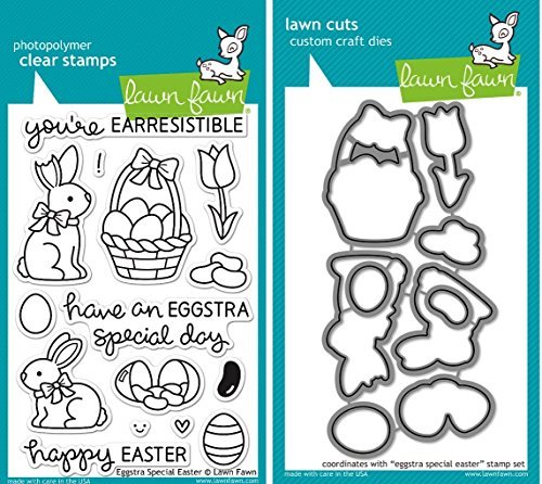 Clear Stamp and Die, Eggstra Special Easter