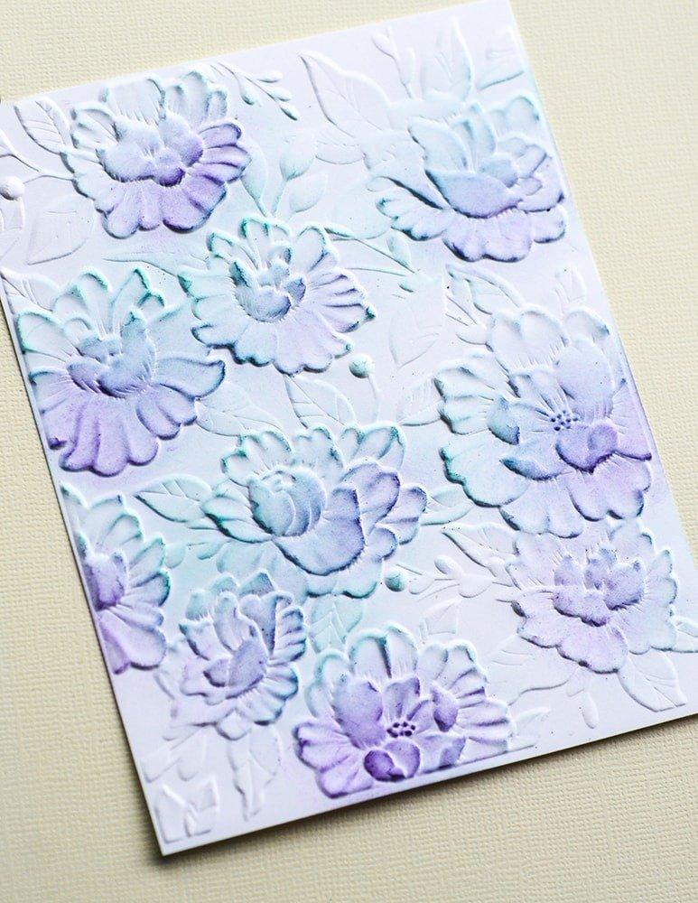 3D Embossing Folder, Blooming