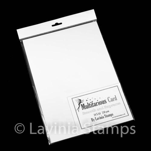 Multifarious Card A4 (8.27 x 11.69 in) white 10 sheets