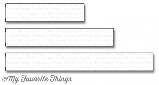 My Favorite Things Die-namics - Interactive Rectangle Word Window