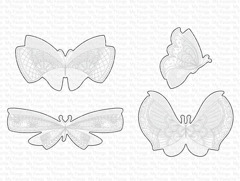 Die, More Brilliant Butterflies