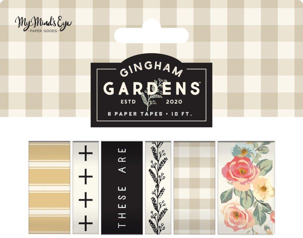 Washi Tape, Gingham Gardens