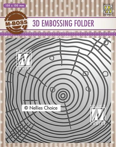 3D Embossing Folders Grow Rings