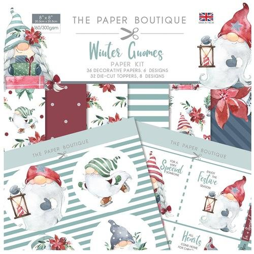 The Paper Boutique Winter Gnomes Paper Kit