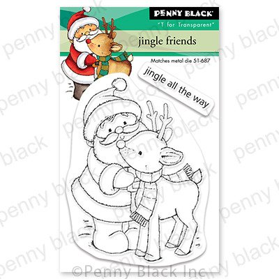 Clear Stamp, Jingle Friends