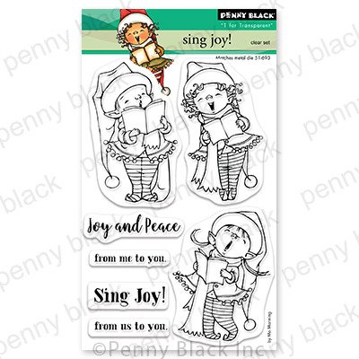 Clear Stamp, Sing Joy