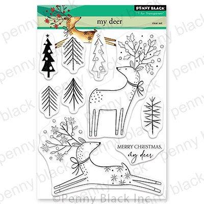 Clear Stamp, My Deer