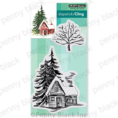 Cling Stamp, Cozy Cabin