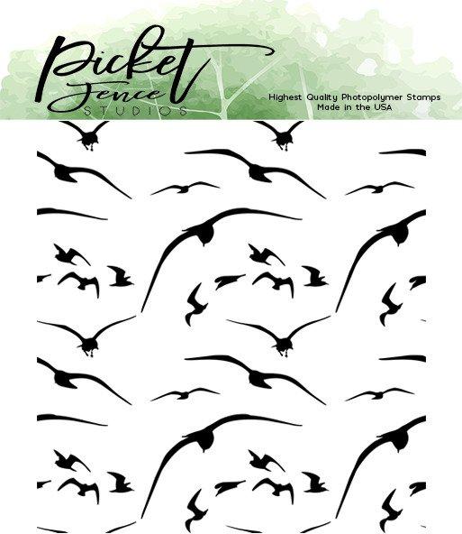 Clear Stamp, Birds in Flight