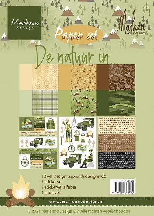 A5 Paper Set - In Nature By Marleen