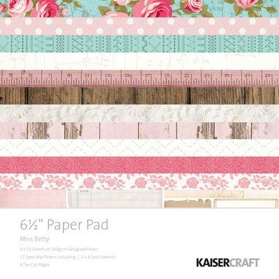 Miss Betty 6.5 Paper Pad