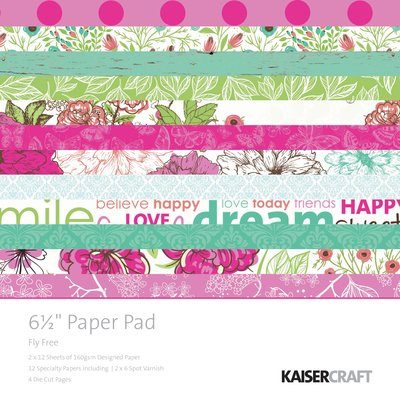 Fly Free 6.5 Paper Pad