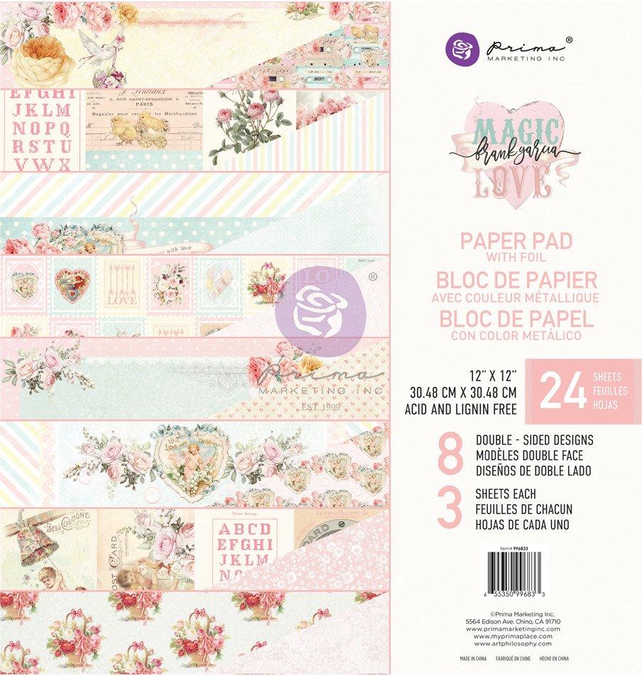 12X12 Paper Pad, Magic Love