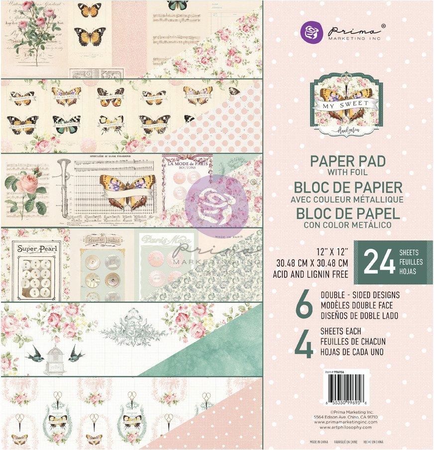 12X12 Paper Pad, My Sweet