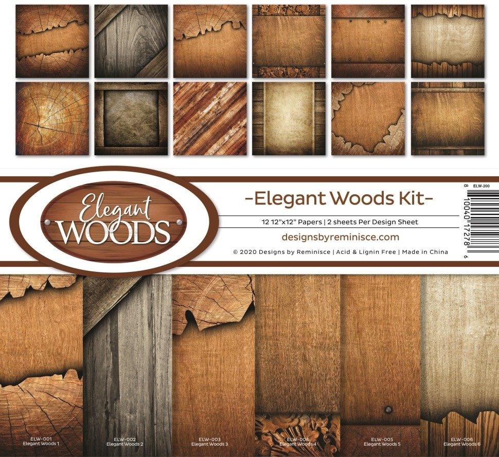 12X12 Collection Kit, Elegant Woods