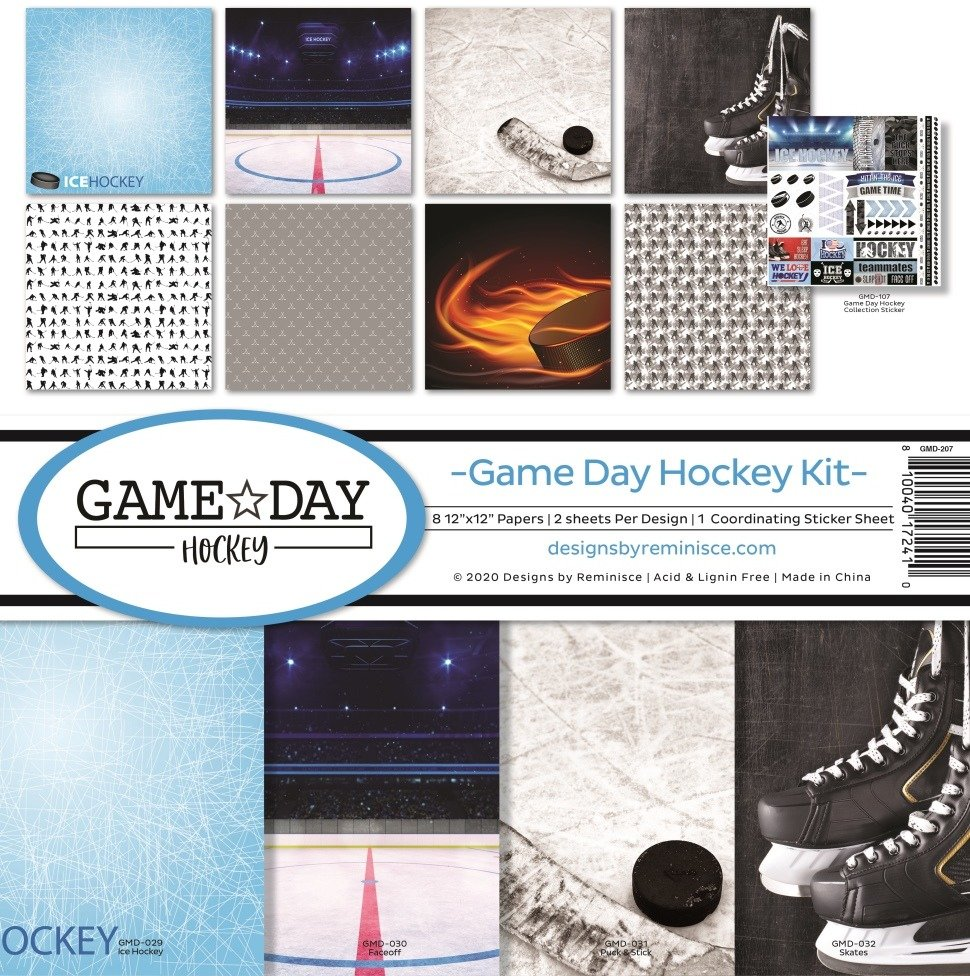 12X12 Collection Kit, Game Day Hockey