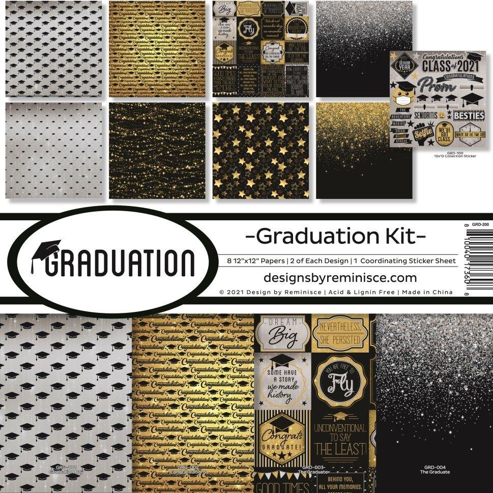 12X12 Collection Kit, Graduation