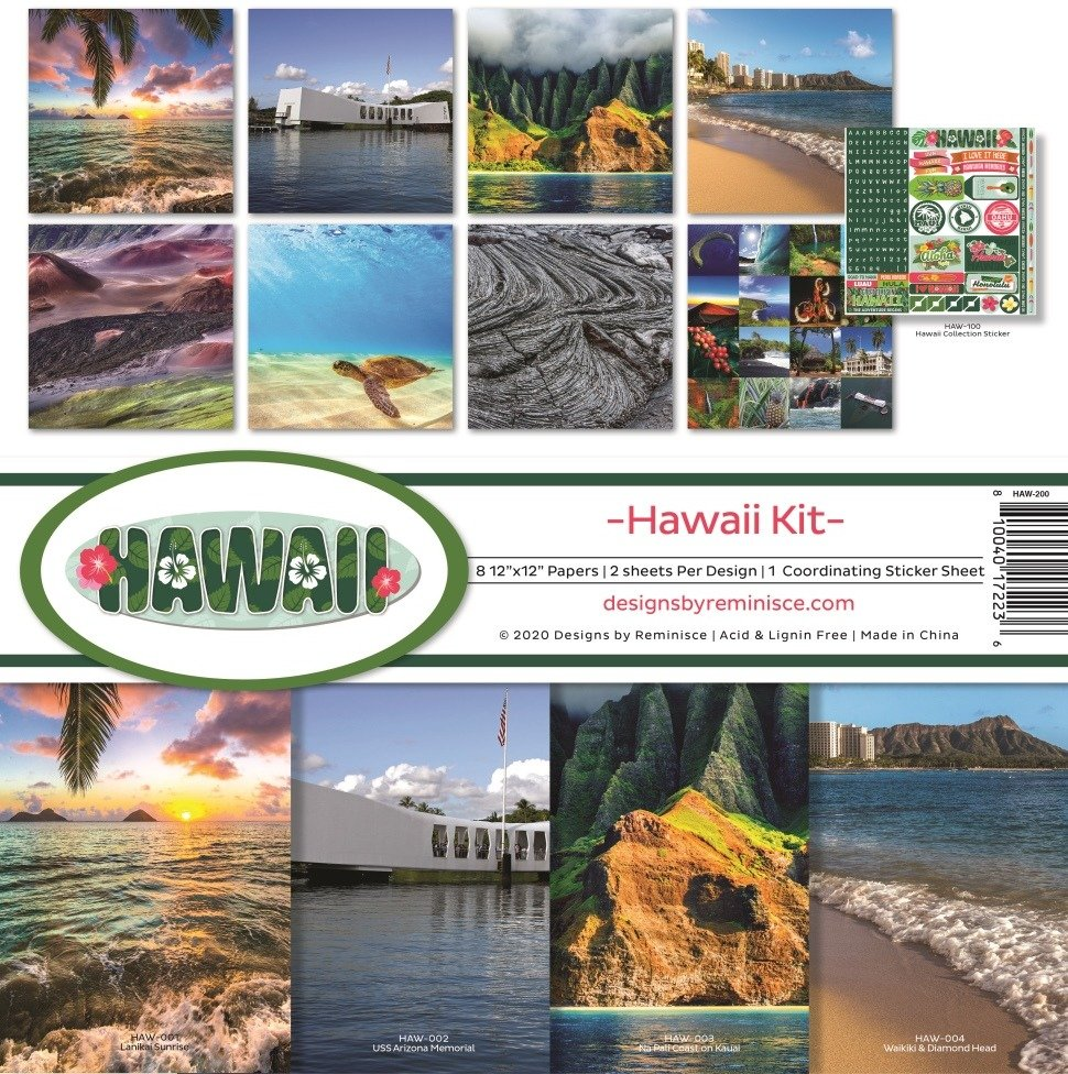 12X12 Collection Kit, Hawaii