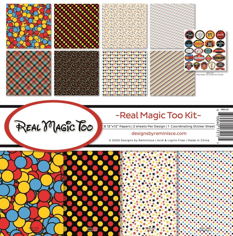 12X12 Collection Kit, Real Magic Too