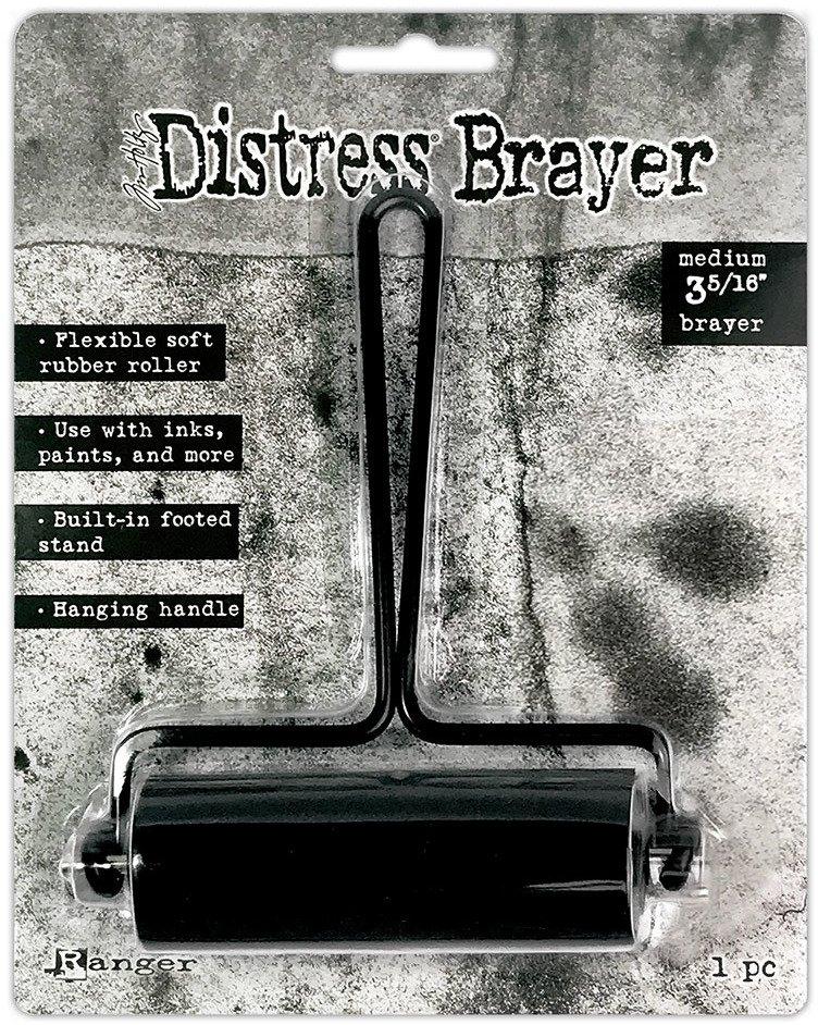 Distress Brayer, Medium 3 5/16