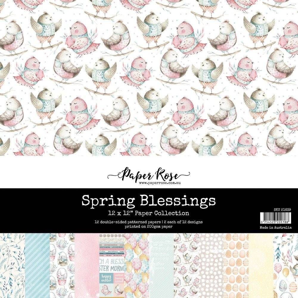 12X12 Paper Collection, Spring Blessings