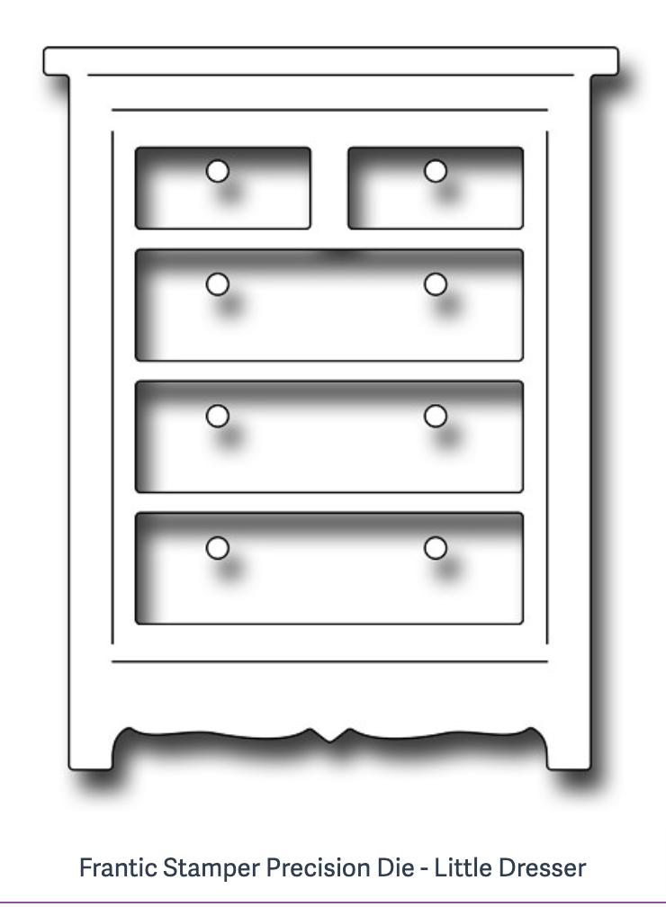 Frantic Stamper Precision Die - Little Dresser