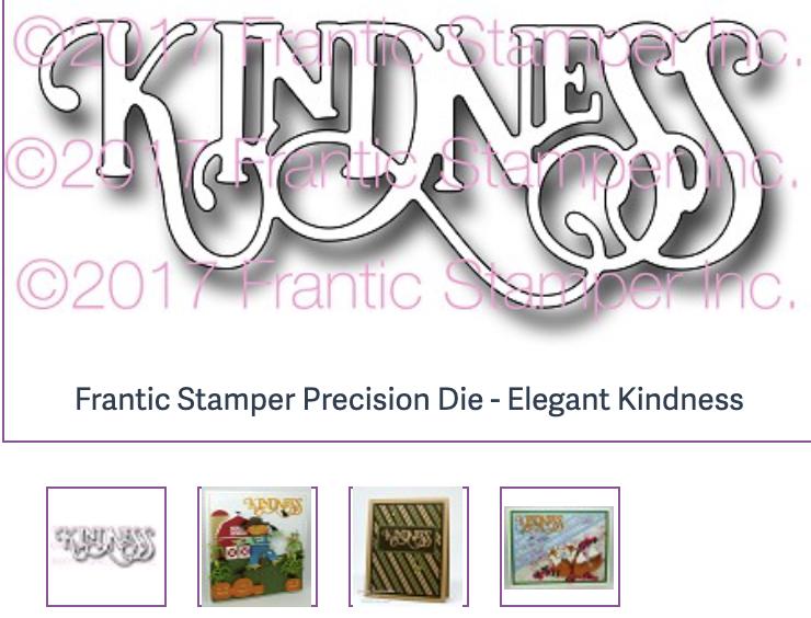 Frantic Stamper Precision Die - Elegant Kindness