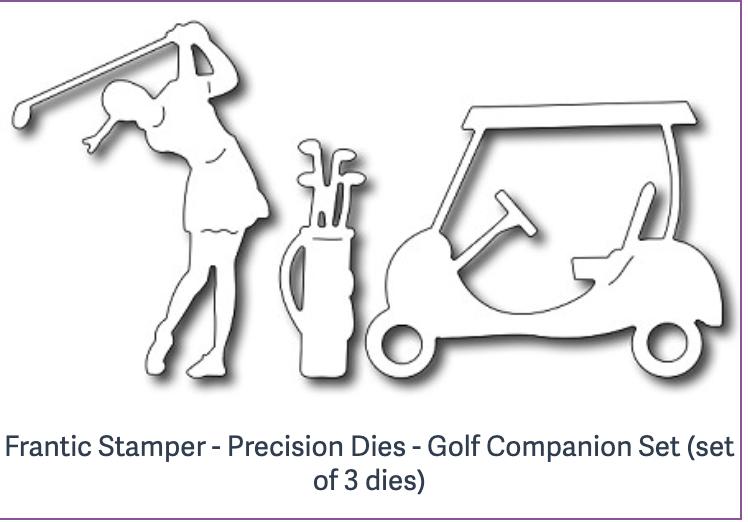 Frantic Stamper - Precision Dies - Golf Companion Set (set of 3 dies)