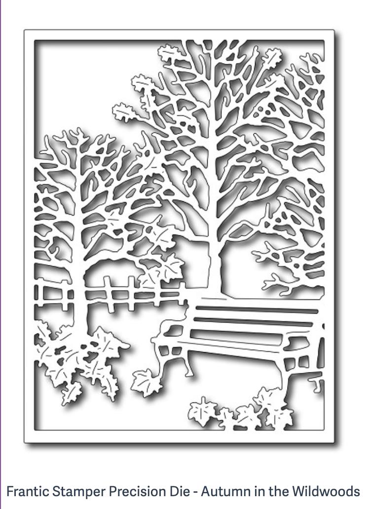 Frantic Stamper Precision Die - Autumn in the Wildwoods