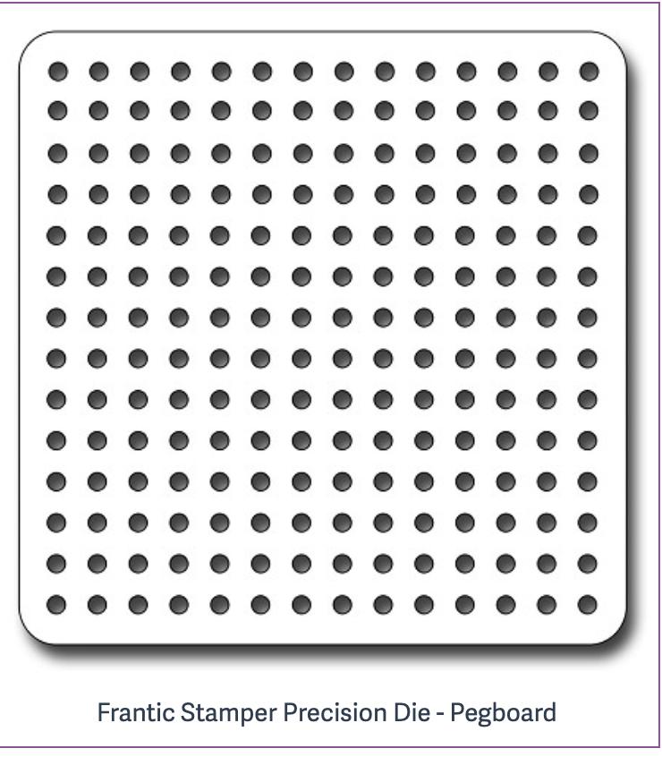 Frantic Stamper Precision Die - Pegboard