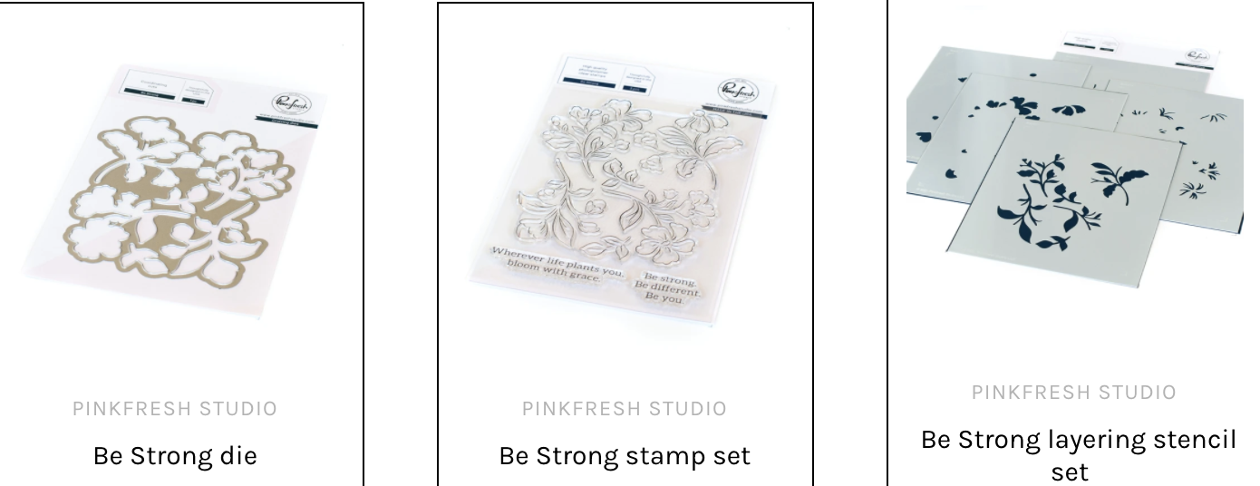 Bundle - Be Strong - set of 3!