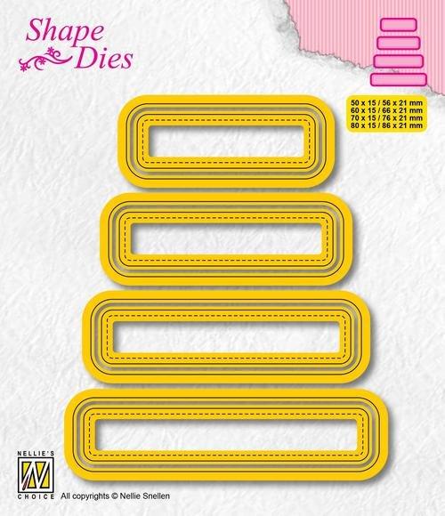 Shape Dies Set Of 4 Tags-3