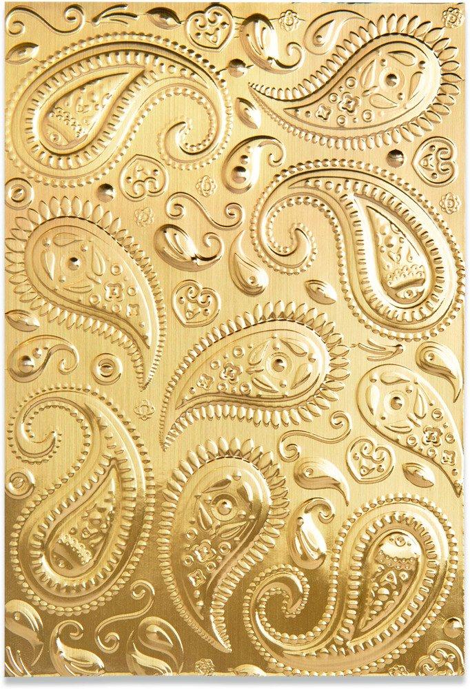 3D Textured Impressions Emb. Folder, Paisley