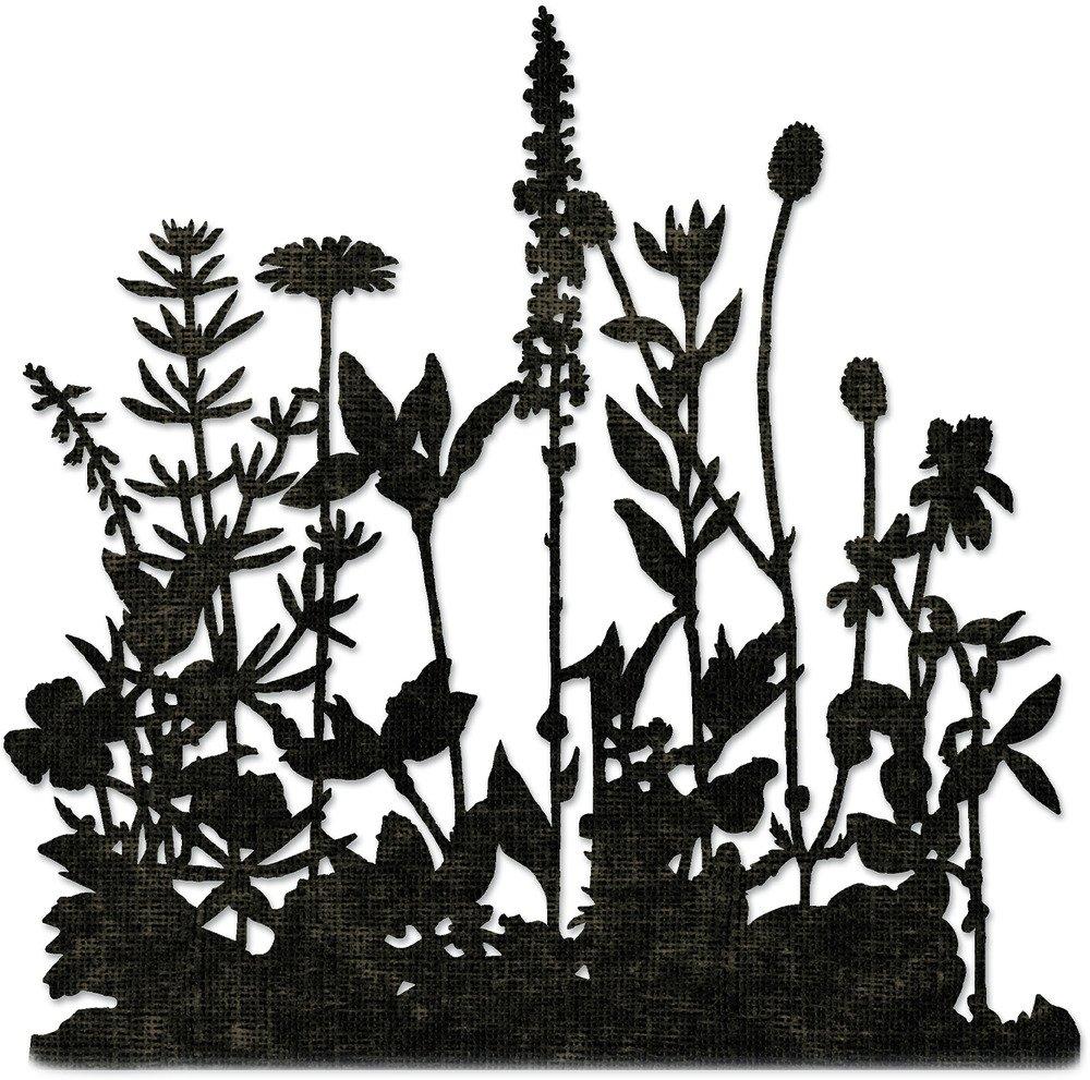 Thinlits Die Set, Flower Field