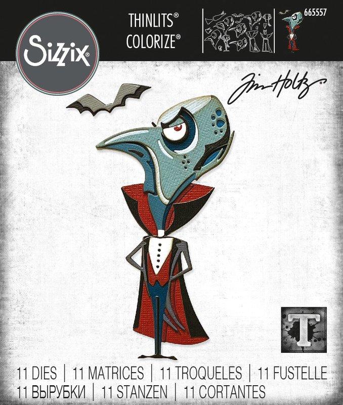 Thinlits Die Set, Colorize - The Count (11pk)