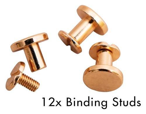 SL Binding Studs Rose Planner Essentials 9x9x7mm 12 PC nr.04