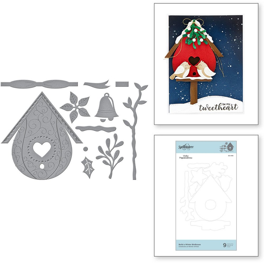 Die, Birdhouses Through the Seasons - Build a Winter Birdhouse